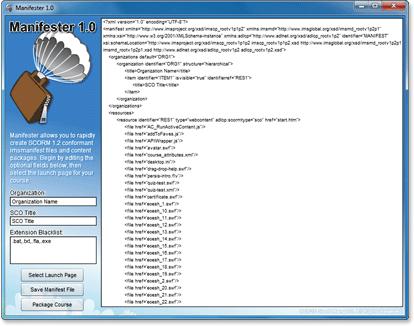Manifester screenshot