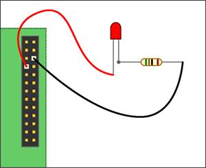 Tremendous Project 1 Gpio Led Using Python Wiring Digital Resources Jebrpkbiperorg